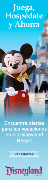 Ofertas Especiales del Disneyland Resort