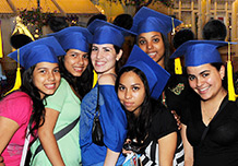 Grads with Mortar Board Ear Hats