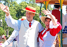 Summer Trolley Show at Walt Disney World Resort