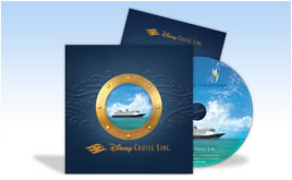 Paquete Gratis para planear unas vacaciones con Disney Cruise Line